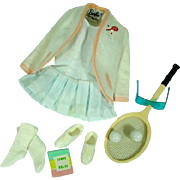 Vintage Barbie Outfit, Tennis Anyone, Mattel, 1962