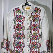 Vintage 1960's Designer Spring/Summer Jacket