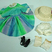 Vintage American Character Betsy McCall Outfit Variegated, 1960