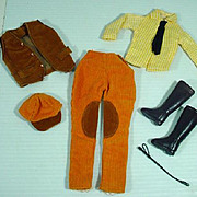 "Vintage Maddie Mod 11 1/2"" Fashion Doll Outfit, 1960's"