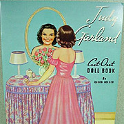 Mint, Un-Cut Queen Holden Judy Garland Paper Dolls, 1989