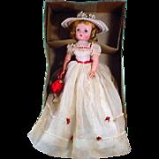 MIB Vintage Madame Alexander Cissy Doll in Summer Gown, 1955