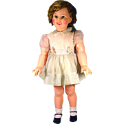 """Beautiful 35"""" Ideal Shirley Temple Doll, 1960!"""
