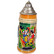 Albert Jacob Thewalt Beer Stein, 1970's