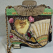 Whimsical Mary Francis Ladies Shoulder Strap Purse