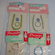 Vintage Lot of Fashion Doll Jewelry, 1950's-60's