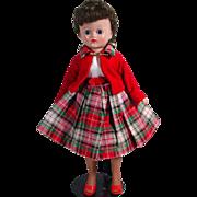 Vogue Brunette Jill Doll in Original 1959 Fashion