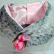 Madame Alexander Elise Faux Fur Stole, 1950's