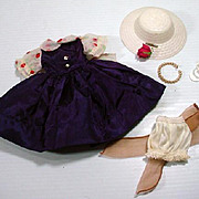"1950's Ensemble for 10 1/2"" Fashion Doll!"