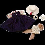 "1950's Ensemble for 10 1/2"" Fashion Doll!"