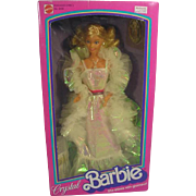 NRFB Crystal Barbie, Mattel, 1983
