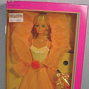 NRFB Mattel Peaches 'N Cream Baribe Doll, 1984