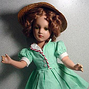 "R&B Nancy Lee, 17"" Composition Doll, 1940's"