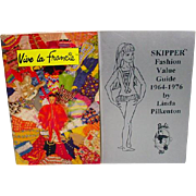 Vintage Mattel Francie and Skipper Reference Books, 1990's