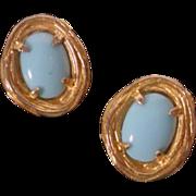 Vintage 1960's Philip Hulitar Clip On Earrings