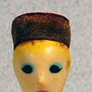 Rare Revlon Couturines Doll Lipstick Case, 1961