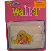 Vintage SuperStar Barbie Vinly Wallet MOC, 1978