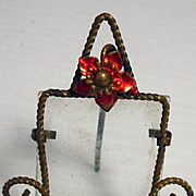 Antique French Fashion Miniature Frame, 1800's