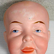 Antique Character Bisque Boy Head
