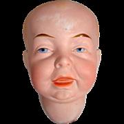 Antique Character Bisque Boy Head