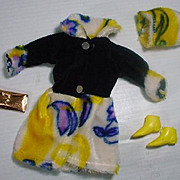 "11 1/2"" Madi Mod 1960's Outfit"