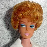 Mattel Honey Blond Bubble Cut Barbie, 1962