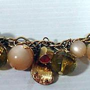 Vintage Coro Charm Bracelet, 1960's Mint