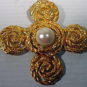 Large Natori Ladies Brooch, 1990's