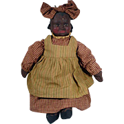 Black Americana Folk Art Arnett Country Store Doll, Sophie