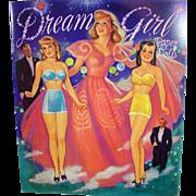 Dream Girl Paper Dolls, Repro of 1950's Book, 1990's