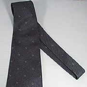 Vintage Men's Silk Gucci Neck Tie, 1970's