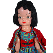 VIntage Mary Jane Hard Plastic Doll, 1955, Terri Lee Look-A-Like