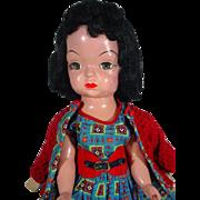 VIntage Mary Jane Hard Plastic Doll, 1955, Terri Lee Look-A-Like - Red Tag Sale Item