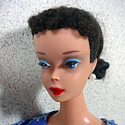 Brunette #4 Ponytail Barbie Doll, Mattel, 1960