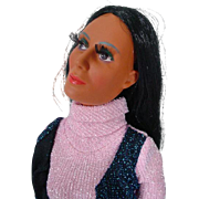 Mego Cher Baggy Doll with Clothing, 1970's