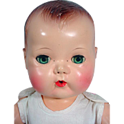 American Character Tiny Tears Doll, 1950, 16""