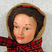 Remco Judy Littlechap Doll in Original Outfit, 1960's