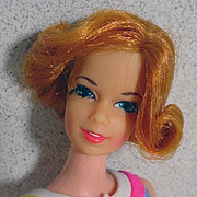Vintage Mattel TNT Stacey Doll, Barbie's Friend, 1969