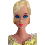 Mint Blond Barbie Hair Fair on Standard Body, 1969, Mattel