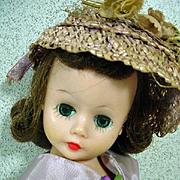 Madame Alexander Cissette Doll in Original Taffeta Outfit, 1957