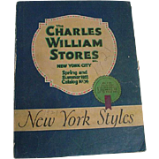 Vintage New York City Department Store Fashion Catalog, 1922, WOW!