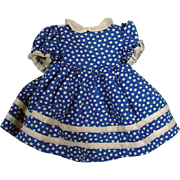 Vintage Madame Alexander Alice in Wonderland Dress, 1940's