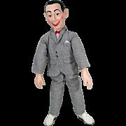 """Pee Wee Herman 17"""" Talking Doll, 1987"""