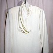 VINTAGE, Gucci, Silk/Angora Blend, Long Sleeve Dress