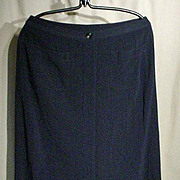VINTAGE, CHANEL, Button Front A-Line Full length Skit