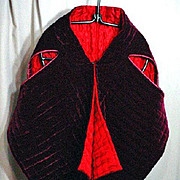 Unusual, Reversible, Quilted Wrap