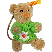 Charming Small Steiff Teddy Bear, 1990's, Germany