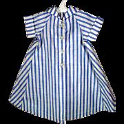 Vintage Madame Alexander Cissy Stripe Cotton Summer Coat, 1950's