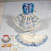 Mattel Vintage Skipper Outfit, Happy Birthday, 1965