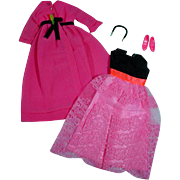 Mattel Vintage Francie Outfit, Two For The Ball, 1969